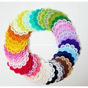 Doily Felt / Felt Doily for card ma..