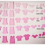 A set of Little baby felt clothing ..