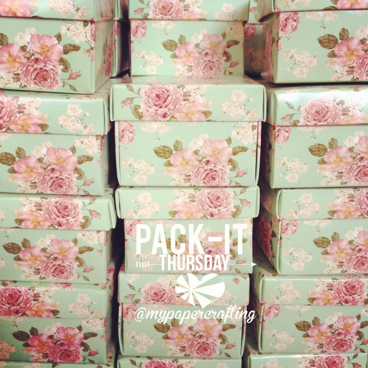 DIY Mint floral favor wedding box // Wedding Favor Box // Packaging box